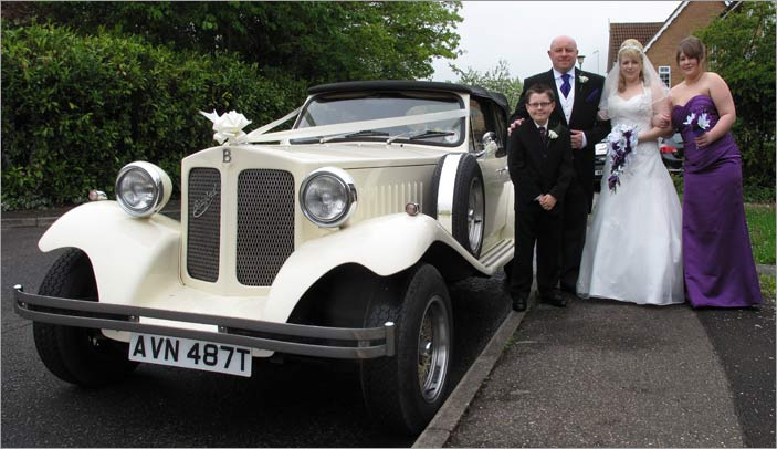 March Wedding Car