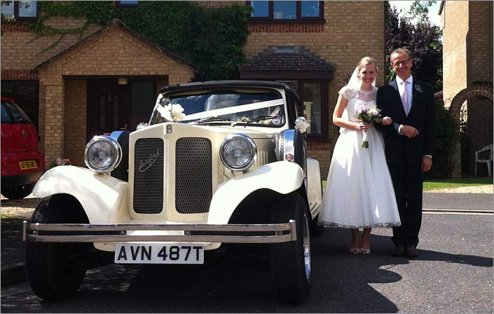 Market Deeping Wedding Car