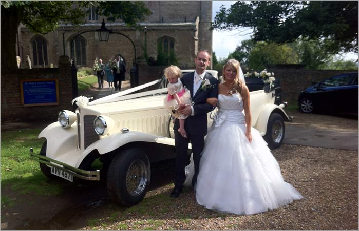 Skegness Wedding Car