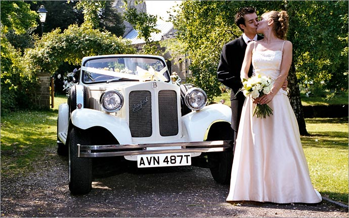 Spalding Wedding Car